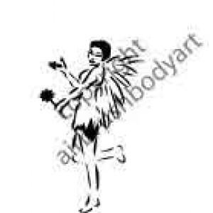 0273 fairy reusable stencil